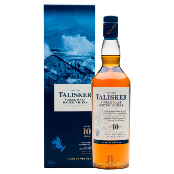 Scotch Talisker 10 Years Isle of Skye Single Malt Whisky